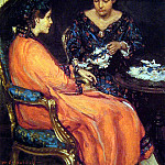 Study for the Orange Robe, American artists