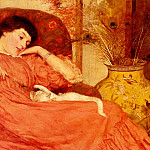 American artists - Skipworth Frank Markham Indolence
