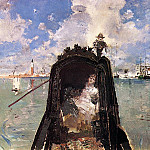 Blum Robert Frederick In the Gondola, American artists