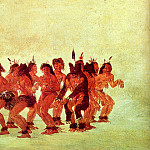 Catlin George Bear Dance, American artists