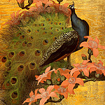 Botke Jessie Arms Blue Peacock, American artists