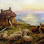 Davis Henry Williams Banks On The Cliffs Picardy, American artists