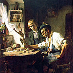 Woodcarver of Oberammergau, American artists
