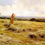 American artists - Saltmer Florence A Haymaking