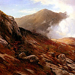 Moran Edward Half Way Up Mt Washington, American artists