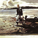 Wyeth, Andrew Newell (American, born 1917) 3, Bo Newell