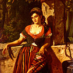 American artists - Hay William M A Girl Of Maderia