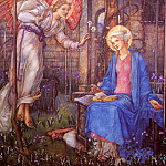 American artists - Frampton Edward Reginald The Annunciation
