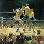 The Big Fight, American artists