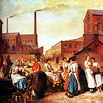 Crowe Eyre The Dinner Hour Wigan, American artists