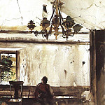 Wyeth, Andrew Newell (American, born 1917) 4, Ньюэлл Конверс Уайет