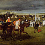 Edgar Degas - At the Races the Start