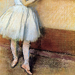 Dancer at the Barre, Edgar Degas