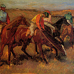 Before the Race, Edgar Degas