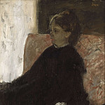 Lady in Black, Edgar Degas