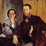 Edmond and Therese Morbilli, Edgar Degas