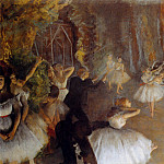 Edgar Degas - The Rehearsal Of The Ballet