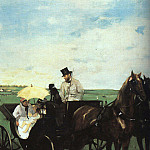 At the Races in the Country CGF, Edgar Degas