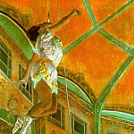 Edgar Degas - La La at the Cirque Fernando