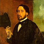 Edgar Degas - Self Portrait