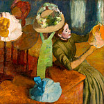 The Millinery Shop, Edgar Degas