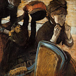At the Milliner's 3, Edgar Degas
