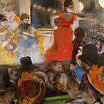 Cafe Concert At Les Ambassadeurs, Edgar Degas
