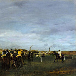Before the Race 2, Edgar Degas