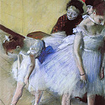 Edgar Degas - The Dance Examination