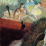 At the Ballet, Edgar Degas