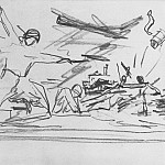 Alexander Deyneka - 1942 Thumbnail picture of Defense of Sevastopol. B., K. 24h27 MHS