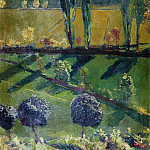 1930 Crimean landscape. Oil on canvas. 77x49 Vladimir, Alexander Deyneka