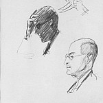 Alexander Deyneka - 1935 from the American sketches. B., K. 26x19, 5 MHS