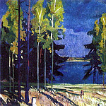 After a rain. Lake Senezh. H., M. Dancoff, Lipetsk region., Alexander Deyneka