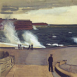 Alexander Deyneka - 1934 Sebastopol. At the pier. B., wc. Gouache. 42, 5x61, 8 RM