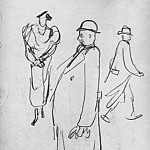 1935 from the American sketches. B., K. 25x17, four MHS, Alexander Deyneka