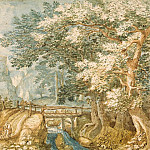 part 11 Hermitage - Stevens, Pieter the Younger. Landscape with bridge