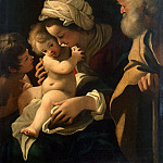 part 11 Hermitage - Skidone, Bartolomeo. The Holy Family with John the Baptist