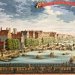 Stopendal, Daniel. View of Amsterdam with a bridge over the river Amstel and the building of an orphanage, part 11 Hermitage