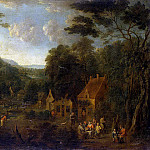part 11 Hermitage - Shuvardts, Mathis. Landscape with dinner peasants