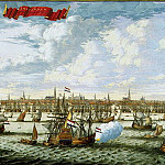 part 11 Hermitage - Stopendal, Daniel. Panorama and the plan of Amsterdam from the Gulf Hey