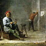Teniers, David the Younger. Smoker, part 11 Hermitage