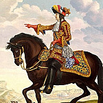 part 11 Hermitage - Saint-Jean, Jean de. Equestrian portrait of Louis XIV at the Battle of Cambrai