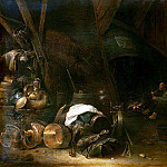 part 11 Hermitage - Saftleven, Herman Younger. Internal view of the peasant hut