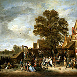 Teniers, David the Younger. Village Festival , part 11 Hermitage