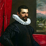 Tintoretto, Domenico. Portrait, part 11 Hermitage