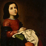 Zurbaran Francisco. Adolescence Dame, part 11 Hermitage