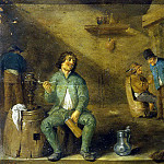Teniers, David the Younger. Smoker (), David II Teniers