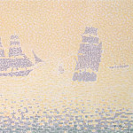 Signac, Paul. Vessels, part 11 Hermitage