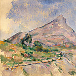Cezanne, Paul. Mount St. Victoria, Paul Cezanne